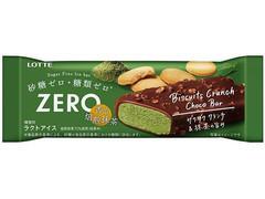 ZERO ビスケットクランチチョコバー 香る焙煎抹茶